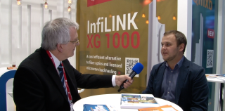 InfiNet Wireless CEO Dmitry Okorokov talks to Brian Dolby at MWC 2017
