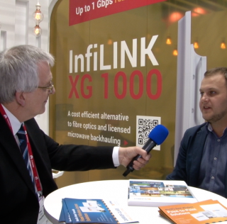 InfiNet Wireless CEO Dmitry Okorokov talks to Brian Dolby at MWC 2017